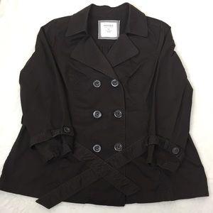 Sonoma Trench Coat Dark Brown 1X